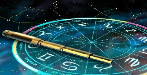 Imagem de um oráculo dos astros.