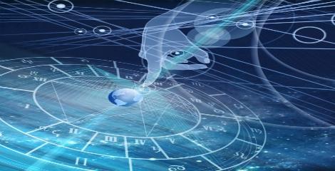 Imagem de um oráculo de astrologia