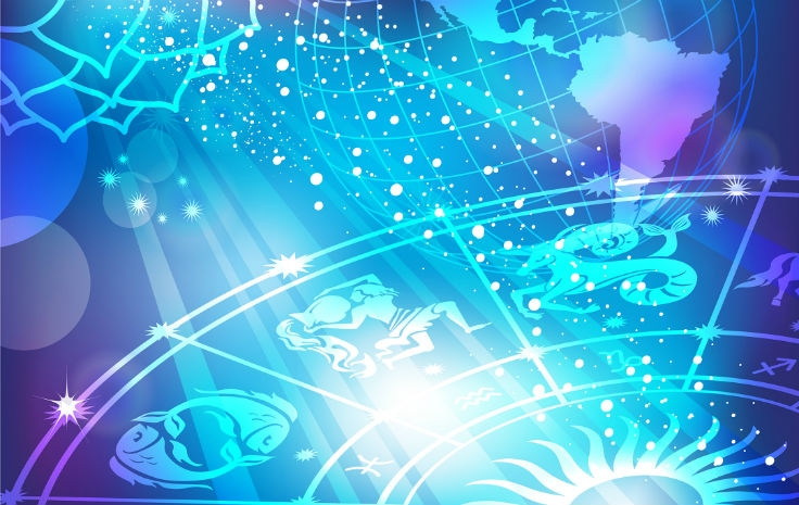 foto de mandala a iluminar um oráculo de astrologia