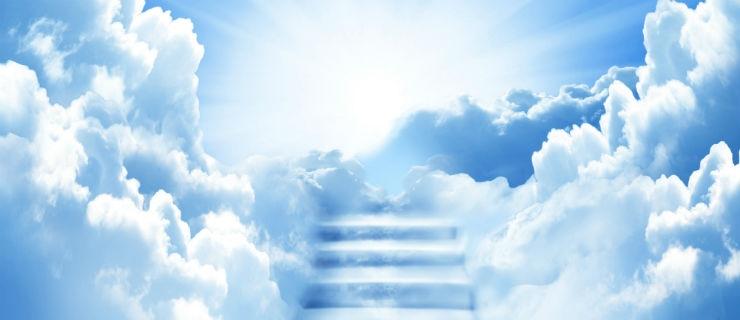 Escadas para o Céu, feitas de nuvens